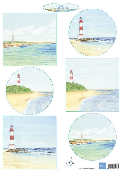 Marianne Design- Knipvel- Tiny's lighthouses : IT611