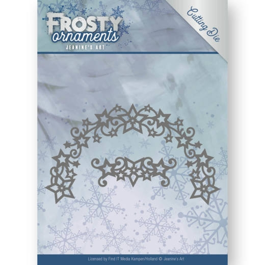 Jeanine's Art- Dies- Frosty Wreath: JAD10048