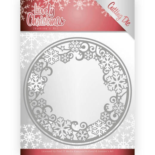 Jeanine's Art- Dies- Lovely Circle Frame: JAD10077