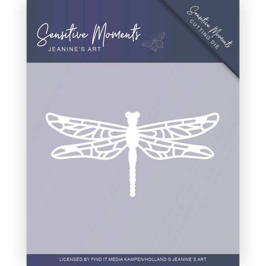 Jeanine's Art- Dies- Sensitive Moments- Dragonfly: JAD10101