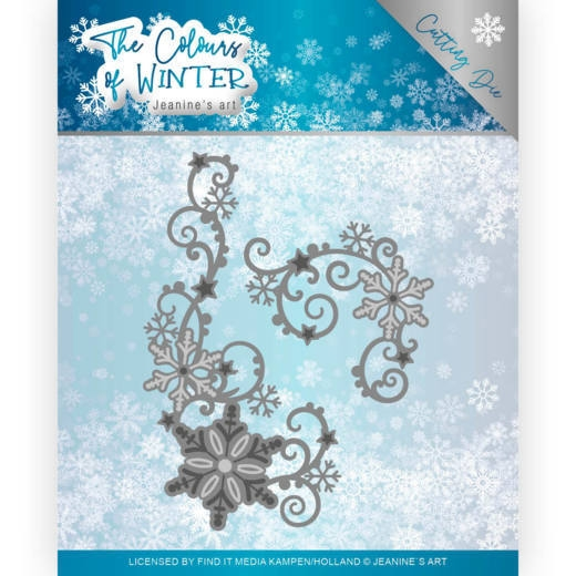 Jeanine's Art- Dies- Winter Swirl: JAD10109