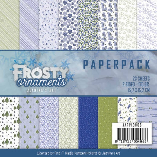 Jeanine's Art- Paperpack- Frosty Ornaments: JAPP10006