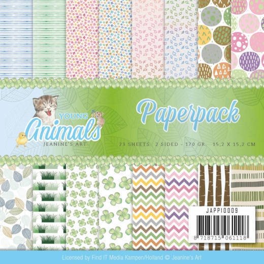 Jeanine's Art- Paperpack- Young Animal;s: JAPP10009