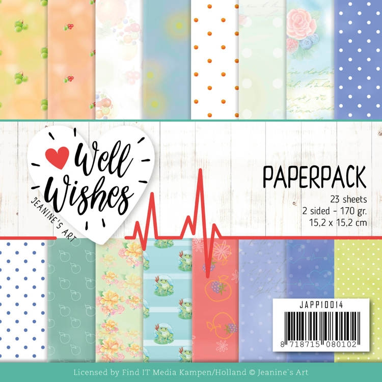 Jeanine's Art- Paperpack- Well wishes: JAPP10014