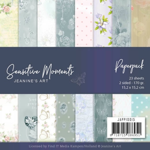 Jeanine's Art- Paperpack- Sensitive Moments: JAPP10015