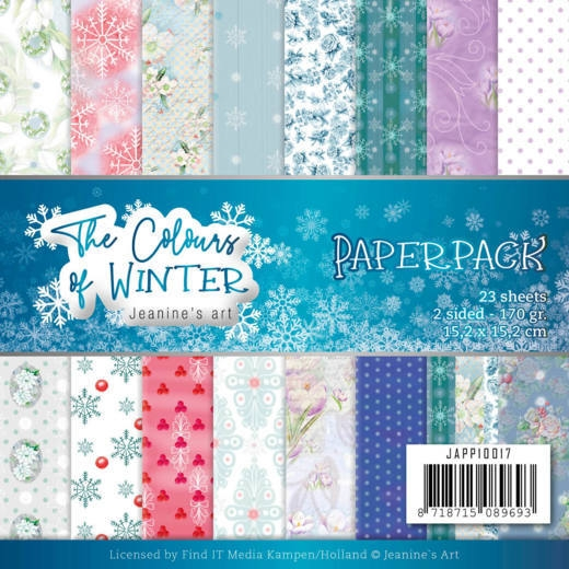 Jeanine's Art- Paperpack- The Colours of Winter: JAPP10017
