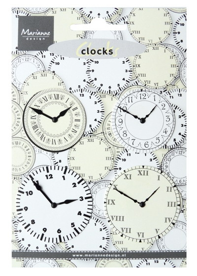 Marianne Design- Decoration clocks: JU0956