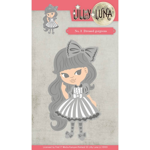 Lilly Luna- Die- Dressed Gorjeous: LL10003