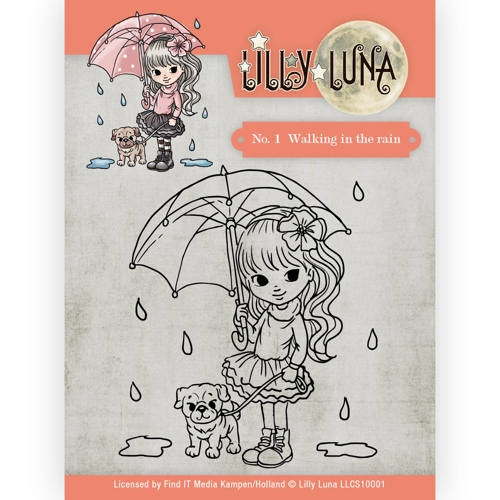 Lilly Luna- Clearstempel- 1 Ice princes: LLCS10001