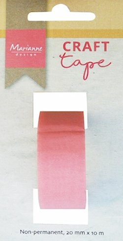 Marianne Design- Craft Tape- 10 m x 20 mm - mallentape: LR0010
