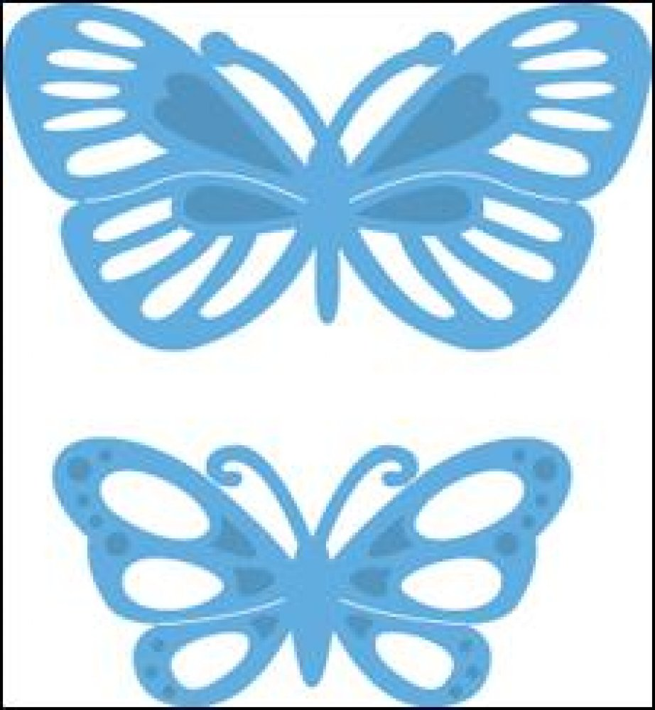 Marianne Design- Creatables- Tiny`s Butterflies 2: LR0357