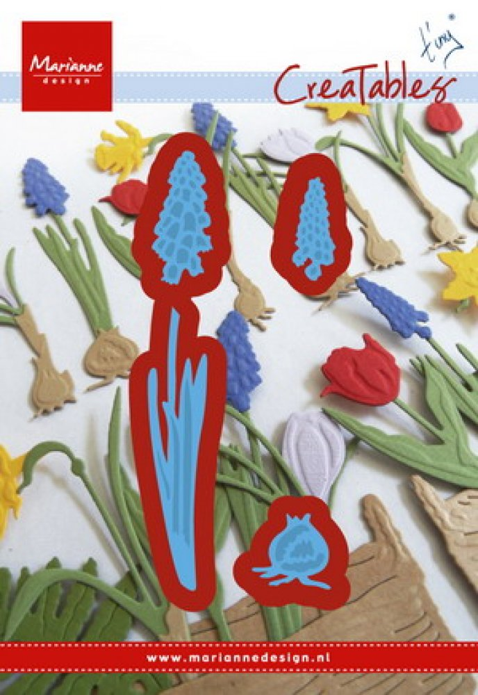Marianne Design- Creatable- Tiny`s Grape Hyacinths: LR0402