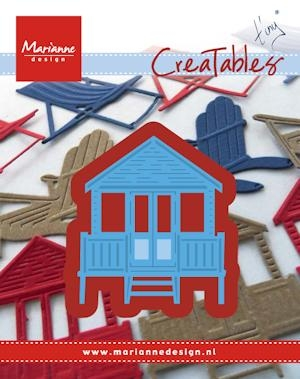 Marianne Design- Creatables- Tiny's beachhouse: LR0422