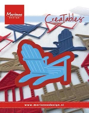 Marianne Design- Creatables- Bear Chair: LR0424