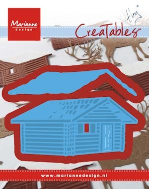 Marianne Design- Creatables- Tiny's log cabin: LR0441