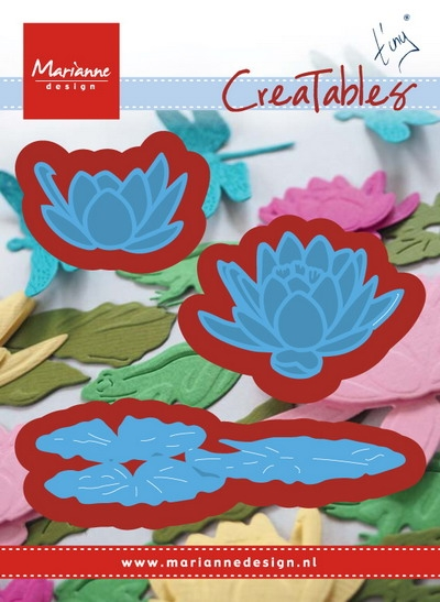 Marianne Design- Creatables- Tiny's waterlily (S): LR0459