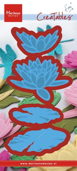 Marianne Design- Creatables- Tiny's waterlily (L): LR0460