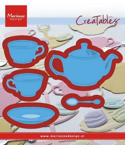 Marianne Design- Creatables- Tea for You: LR0462