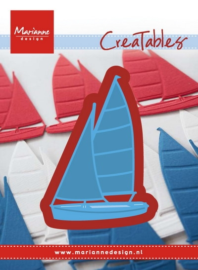 Marianne Design- Creatables- Sailboat: LR0473