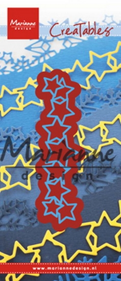 Marianne Design- Creatables- Lots of stars: LR0487