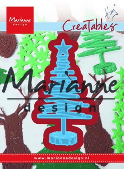 Marianne Design- Creatables- Tiny's Christmas tree Wood: LR0492