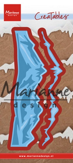 Marianne Design- Creatables- Horizon Snowy mountains: LR0493