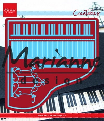 Marianne Design- Creatables- Piano: LR0501