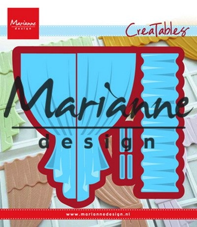 Marianne Design- Creatables- Curtains: LR0502