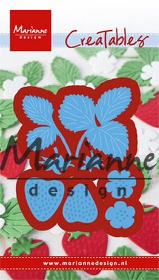 Marianne Design- Creatables- Strawberries: LR0510