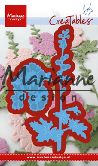 Marianne Design- Creatables- Tiny's Hollyhocks: LR0521