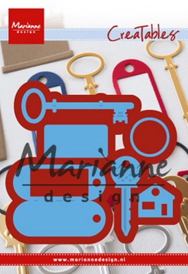 Marianne Design- Creatables- Key Ring: LR0523
