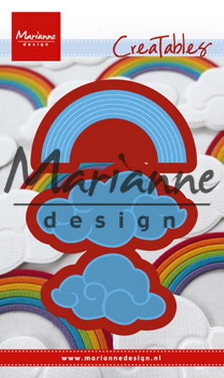 Marianne Design- Creatables- Raibow & Clouds: LR0531