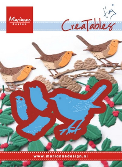 Marianne Design- Creatables- Tiny's Red Robin: LR0548
