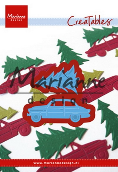 Marianne Design- Creatables- Driving home for Christmas: LR0567
