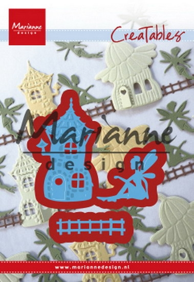 Marianne Design- Creatables- Fairy tale house: LR0580