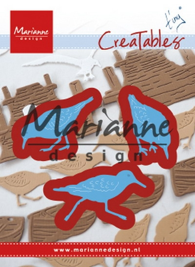 Marianne Design- Creatables- Tiny's Sandpipers: LR0596