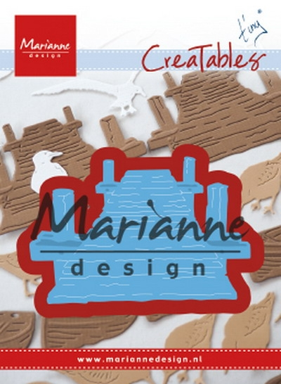Marianne Design- Creatables- Tiny's Beach Jetty: LR0597