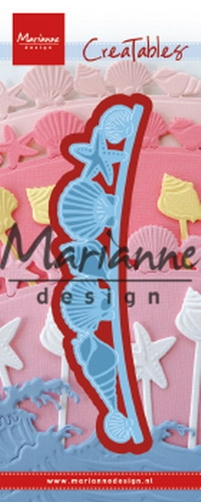 Marianne Design- Creatables- Sea shells border: LR0601