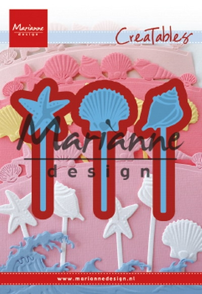Marianne Design- Creatables- Sea shells pins: LR0602