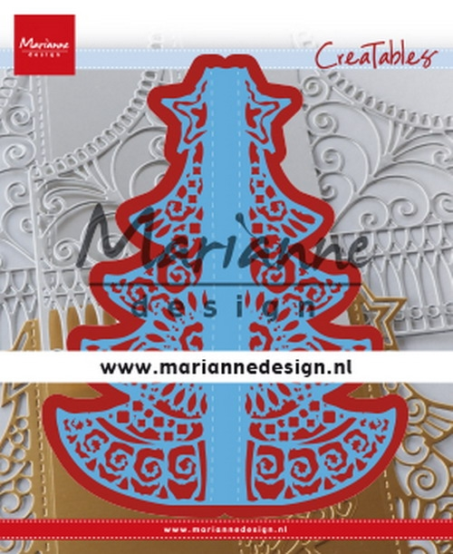 Marianne Design- Creatables- Gate folding dies Christmas: LR0612
