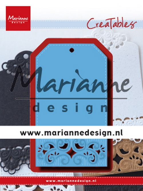 Marianne Design- Creatables- Classic label: LR0617