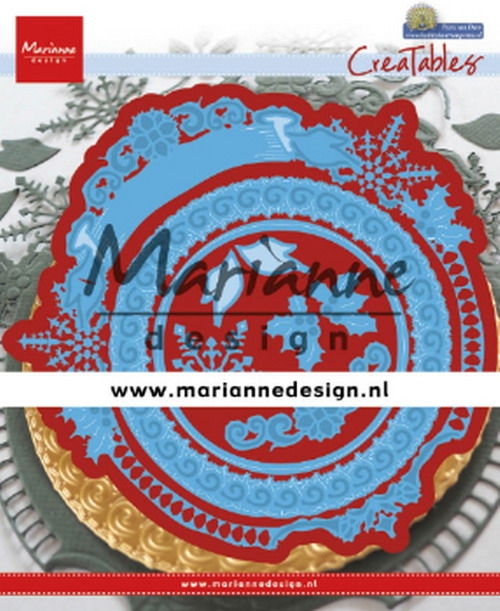 Marianne Design- Creatables- Petra's Winter Circle: LR0627