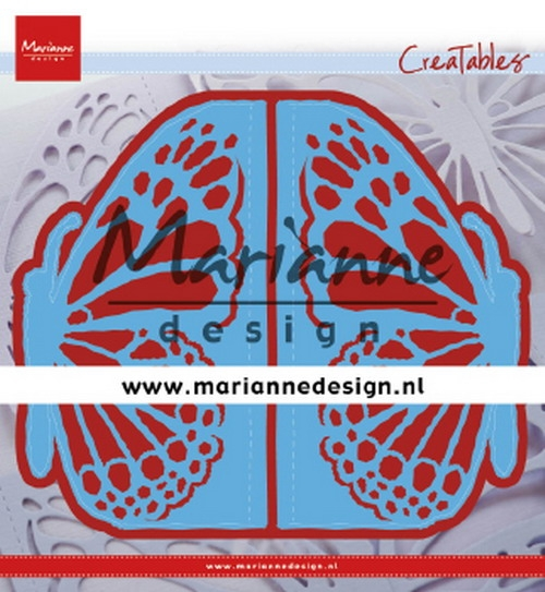 Marianne Design- Creatables- Gate folding die Butterfly: LR0638