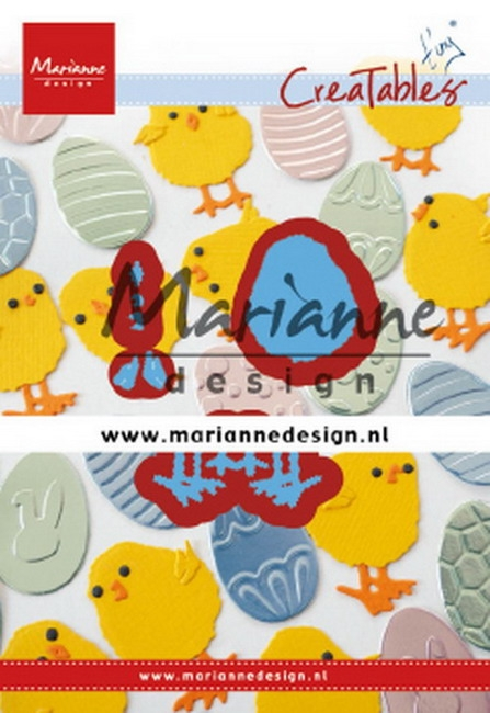 Marianne Design- Creatables- Tiny's easter chick: LR0644
