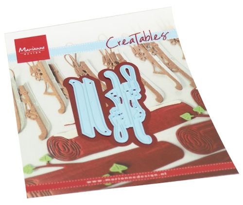 Marianne Design- Creatables- Dutch ice Skates: LR0679