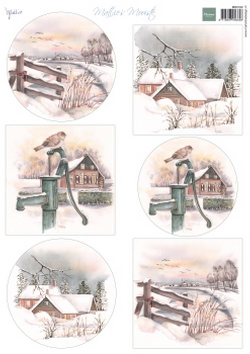 Marianne Design- Knipvel- Mattie's mooiste Dutch winter: MB0182