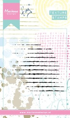 Marianne Design Clearstempel- Texture Grid: MM1604