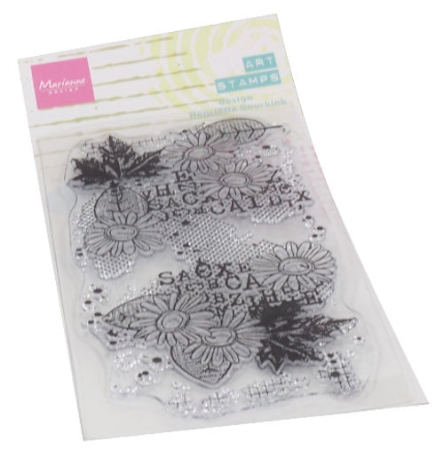 Marianne Design- Art Stamps- Chrysant: MM1633