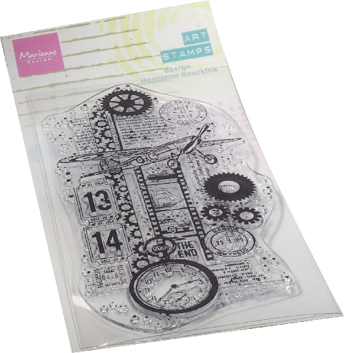 Marianne Design- Clear Stamp- Airplane: MM1644