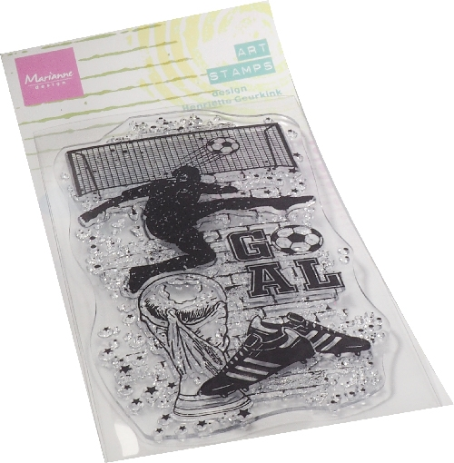 Marianne Design- Clear Stamp- Soccer: MM1645